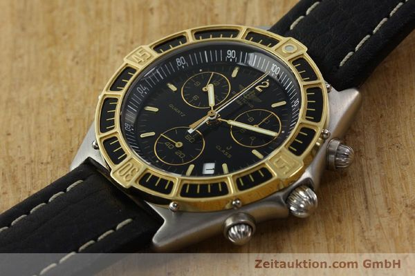 Used luxury watch Breitling J-Class chronograph steel / gold quartz Kal. ETA 251.262 Ref. 80290D53067  | 142186 01