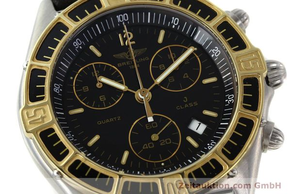 Used luxury watch Breitling J-Class chronograph steel / gold quartz Kal. ETA 251.262 Ref. 80290D53067  | 142186 02