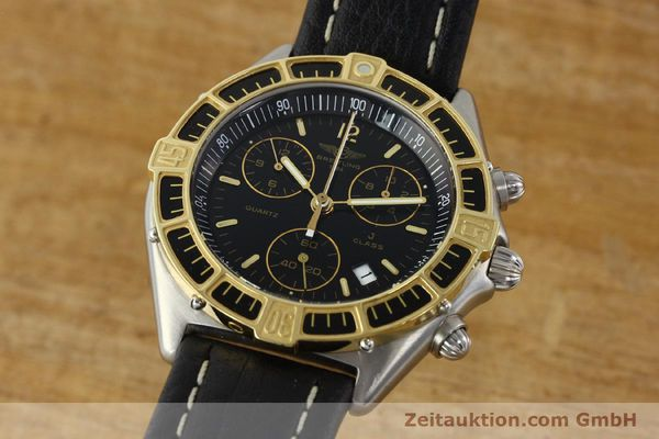 Used luxury watch Breitling J-Class chronograph steel / gold quartz Kal. ETA 251.262 Ref. 80290D53067  | 142186 04