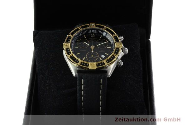 Used luxury watch Breitling J-Class chronograph steel / gold quartz Kal. ETA 251.262 Ref. 80290D53067  | 142186 07