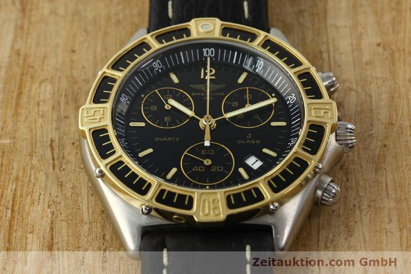 Used luxury watch Breitling J-Class chronograph steel / gold quartz Kal. ETA 251.262 Ref. 80290D53067  | 142186 12