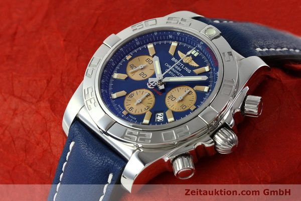 Used luxury watch Breitling Chronomat 44 chronograph steel automatic Kal. B01 Ref. AB0110  | 142190 01