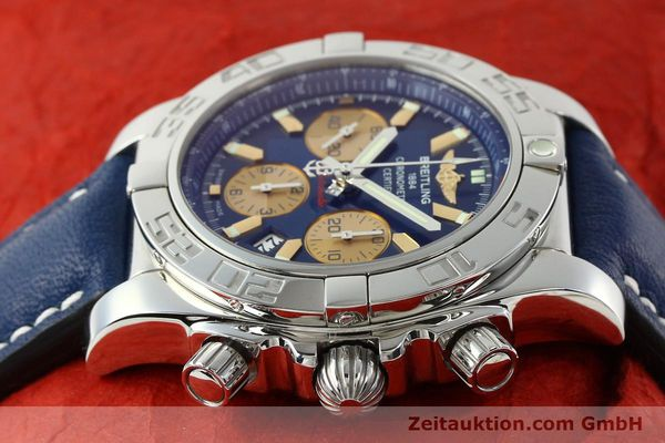 Used luxury watch Breitling Chronomat 44 chronograph steel automatic Kal. B01 Ref. AB0110  | 142190 05