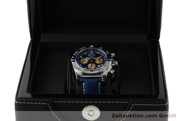 Used luxury watch Breitling Chronomat 44 chronograph steel automatic Kal. B01 Ref. AB0110  | 142190 07