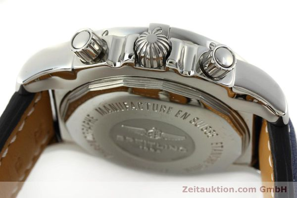 Used luxury watch Breitling Chronomat 44 chronograph steel automatic Kal. B01 Ref. AB0110  | 142190 08