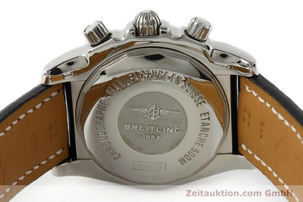Used luxury watch Breitling Chronomat 44 chronograph steel automatic Kal. B01 Ref. AB0110  | 142190 09