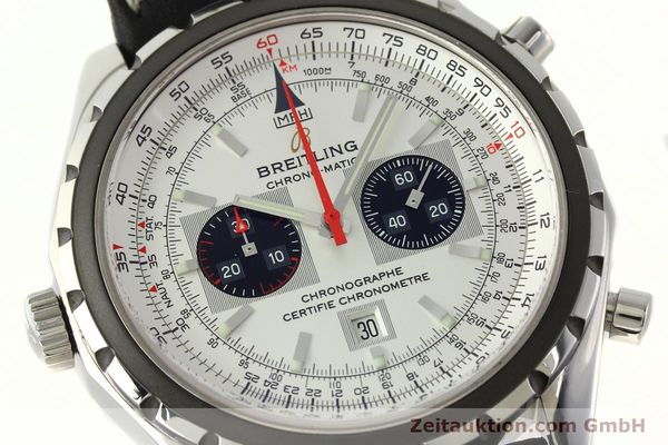 Used luxury watch Breitling Chrono-Matic chronograph steel automatic Kal. B41 ETA 2892A2 Ref. A41360  | 142192 02