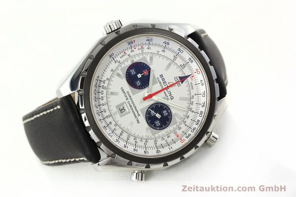 Used luxury watch Breitling Chrono-Matic chronograph steel automatic Kal. B41 ETA 2892A2 Ref. A41360  | 142192 03