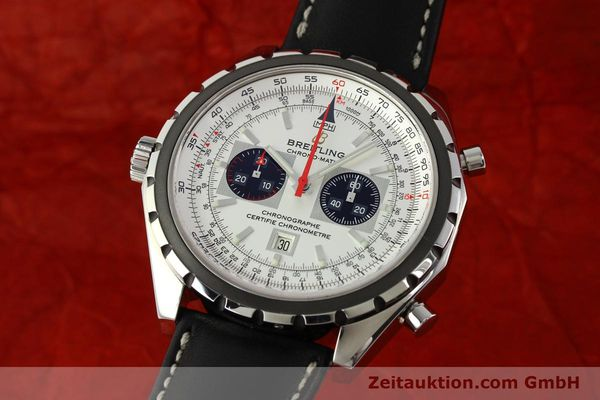 Used luxury watch Breitling Chrono-Matic chronograph steel automatic Kal. B41 ETA 2892A2 Ref. A41360  | 142192 04