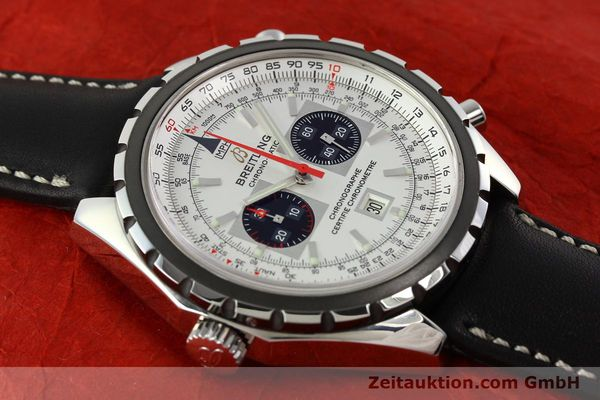 Used luxury watch Breitling Chrono-Matic chronograph steel automatic Kal. B41 ETA 2892A2 Ref. A41360  | 142192 14