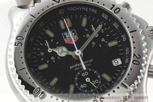 Used luxury watch Tag Heuer Professional chronograph steel quartz Kal. ETA 251.262 Ref. CG1110-0  | 142198 02