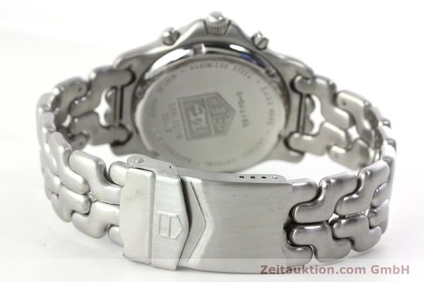 Used luxury watch Tag Heuer Professional chronograph steel quartz Kal. ETA 251.262 Ref. CG1110-0  | 142198 11