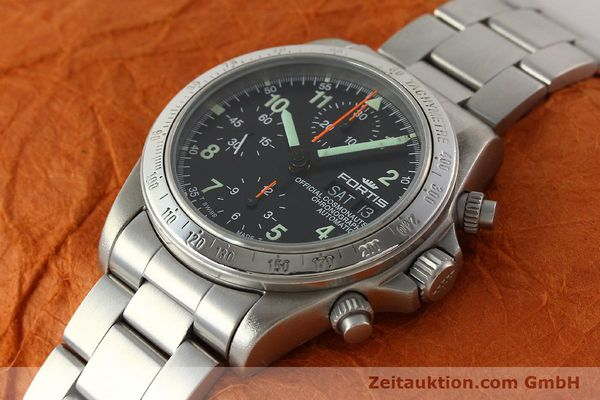 Used luxury watch Fortis Cosmonauts Chronograph chronograph steel automatic Kal. ETA 7750 Ref. 630.22.141  | 142199 01