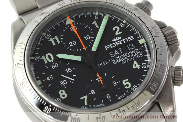 Used luxury watch Fortis Cosmonauts Chronograph chronograph steel automatic Kal. ETA 7750 Ref. 630.22.141  | 142199 02