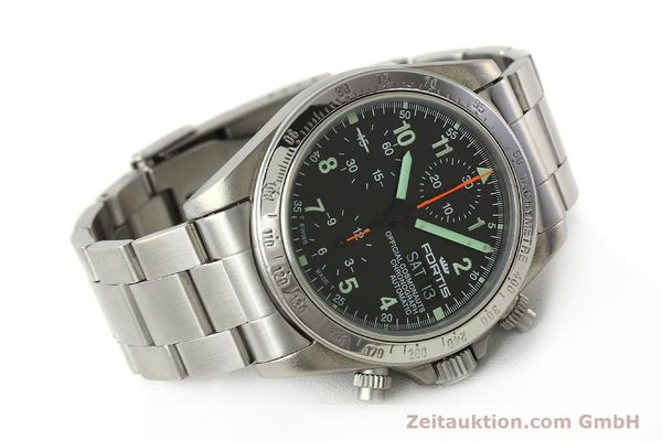 Used luxury watch Fortis Cosmonauts Chronograph chronograph steel automatic Kal. ETA 7750 Ref. 630.22.141  | 142199 03