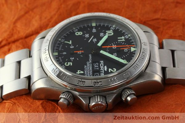 Used luxury watch Fortis Cosmonauts Chronograph chronograph steel automatic Kal. ETA 7750 Ref. 630.22.141  | 142199 05