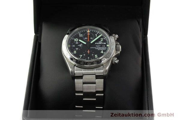 Used luxury watch Fortis Cosmonauts Chronograph chronograph steel automatic Kal. ETA 7750 Ref. 630.22.141  | 142199 07