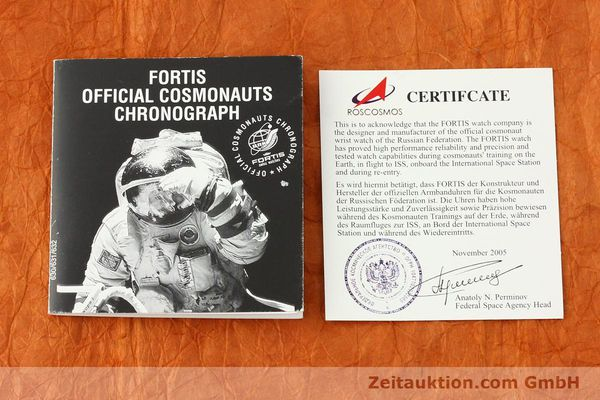 Used luxury watch Fortis Cosmonauts Chronograph chronograph steel automatic Kal. ETA 7750 Ref. 630.22.141  | 142199 08