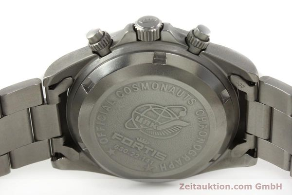 Used luxury watch Fortis Cosmonauts Chronograph chronograph steel automatic Kal. ETA 7750 Ref. 630.22.141  | 142199 09