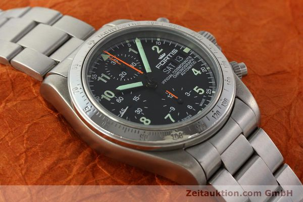 Used luxury watch Fortis Cosmonauts Chronograph chronograph steel automatic Kal. ETA 7750 Ref. 630.22.141  | 142199 15