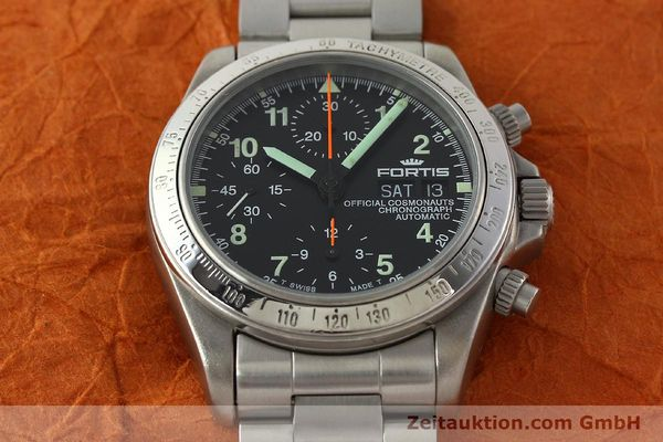 Used luxury watch Fortis Cosmonauts Chronograph chronograph steel automatic Kal. ETA 7750 Ref. 630.22.141  | 142199 16
