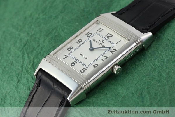 Used luxury watch Jaeger Le Coultre Reverso steel manual winding Kal. 846/1 Ref. 250.8.86  | 142202 01