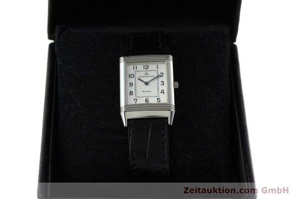 Used luxury watch Jaeger Le Coultre Reverso steel manual winding Kal. 846/1 Ref. 250.8.86  | 142202 07