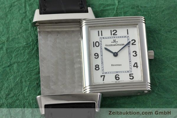 Used luxury watch Jaeger Le Coultre Reverso steel manual winding Kal. 846/1 Ref. 250.8.86  | 142202 16