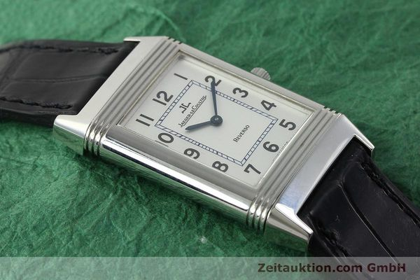 Used luxury watch Jaeger Le Coultre Reverso steel manual winding Kal. 846/1 Ref. 250.8.86  | 142202 17