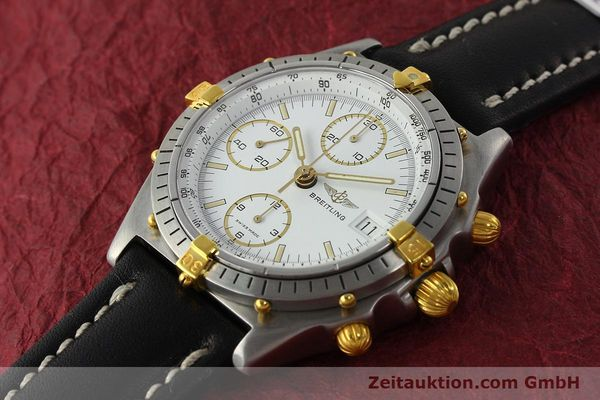 Used luxury watch Breitling Chronomat chronograph steel / gold automatic Kal. VAL 7750 Ref. 81950  | 142207 01