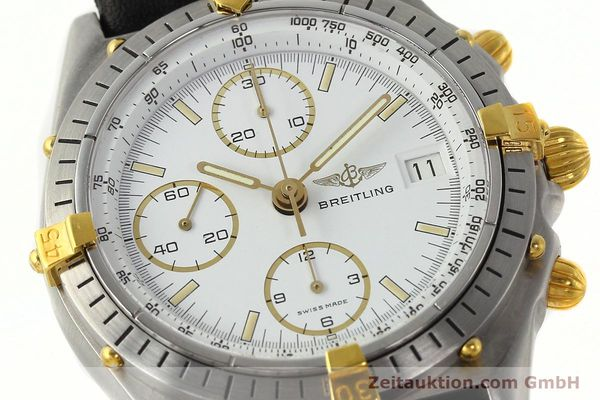 Used luxury watch Breitling Chronomat chronograph steel / gold automatic Kal. VAL 7750 Ref. 81950  | 142207 02