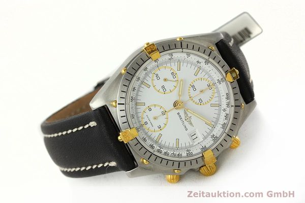 Used luxury watch Breitling Chronomat chronograph steel / gold automatic Kal. VAL 7750 Ref. 81950  | 142207 03