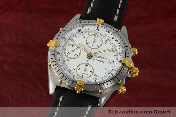 Used luxury watch Breitling Chronomat chronograph steel / gold automatic Kal. VAL 7750 Ref. 81950  | 142207 04