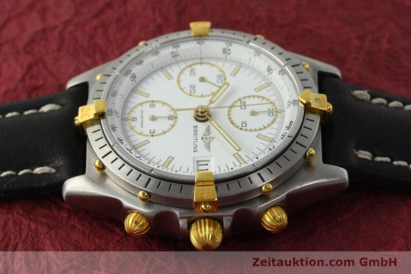 Used luxury watch Breitling Chronomat chronograph steel / gold automatic Kal. VAL 7750 Ref. 81950  | 142207 05