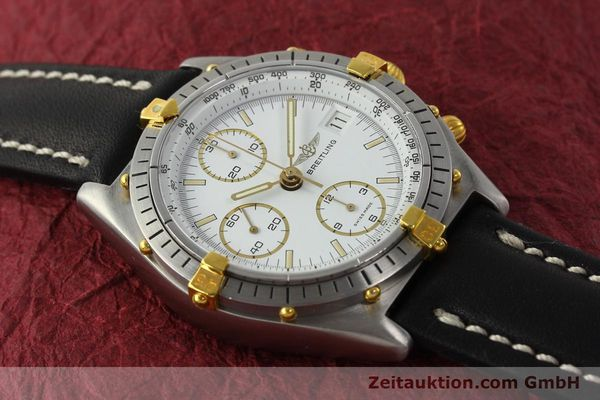 Used luxury watch Breitling Chronomat chronograph steel / gold automatic Kal. VAL 7750 Ref. 81950  | 142207 13