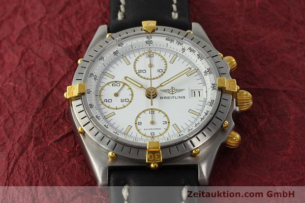 Used luxury watch Breitling Chronomat chronograph steel / gold automatic Kal. VAL 7750 Ref. 81950  | 142207 14