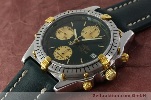 Used luxury watch Breitling Chronomat chronograph steel / gold automatic Kal. B13 ETA 7750 Ref. B13047  | 142208 01
