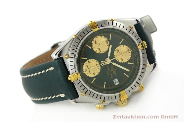 Used luxury watch Breitling Chronomat chronograph steel / gold automatic Kal. B13 ETA 7750 Ref. B13047  | 142208 03