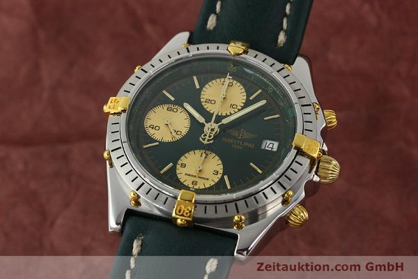 Used luxury watch Breitling Chronomat chronograph steel / gold automatic Kal. B13 ETA 7750 Ref. B13047  | 142208 04