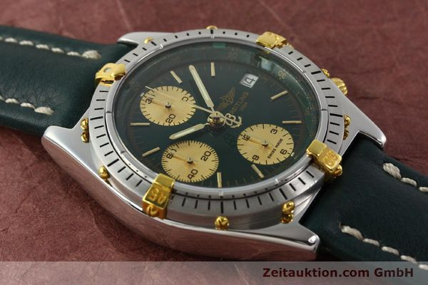 Used luxury watch Breitling Chronomat chronograph steel / gold automatic Kal. B13 ETA 7750 Ref. B13047  | 142208 13