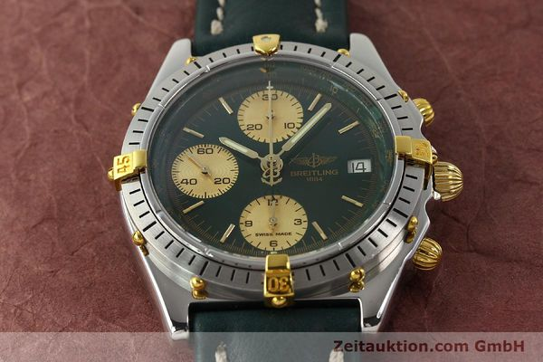 Used luxury watch Breitling Chronomat chronograph steel / gold automatic Kal. B13 ETA 7750 Ref. B13047  | 142208 14