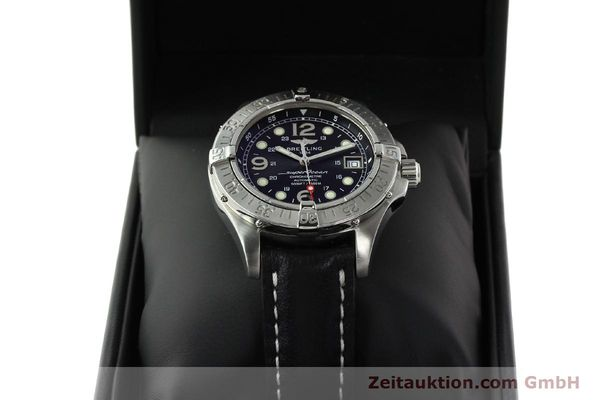 Used luxury watch Breitling Superocean steel automatic Kal. B17 ETA 2824-2 Ref. A17360  | 142210 07