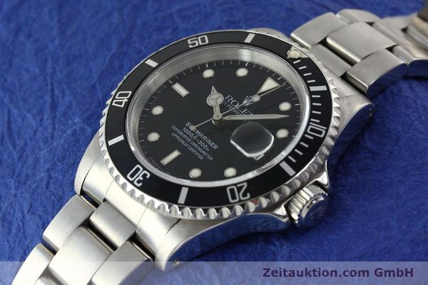 Used luxury watch Rolex Submariner steel automatic Kal. 3135 Ref. 16610  | 142213 01