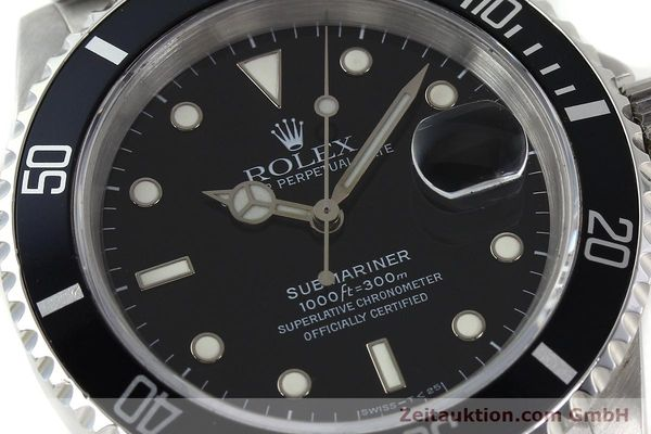 Used luxury watch Rolex Submariner steel automatic Kal. 3135 Ref. 16610  | 142213 02