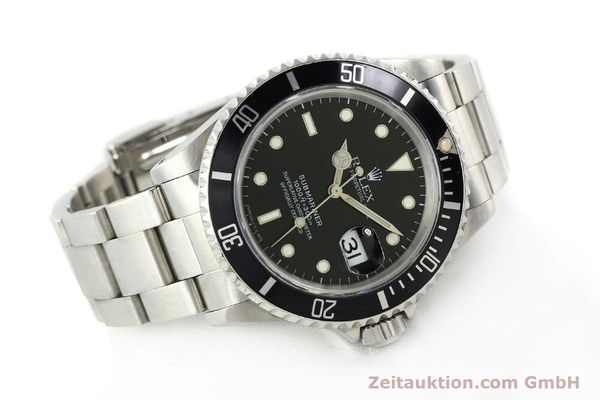 Used luxury watch Rolex Submariner steel automatic Kal. 3135 Ref. 16610  | 142213 03