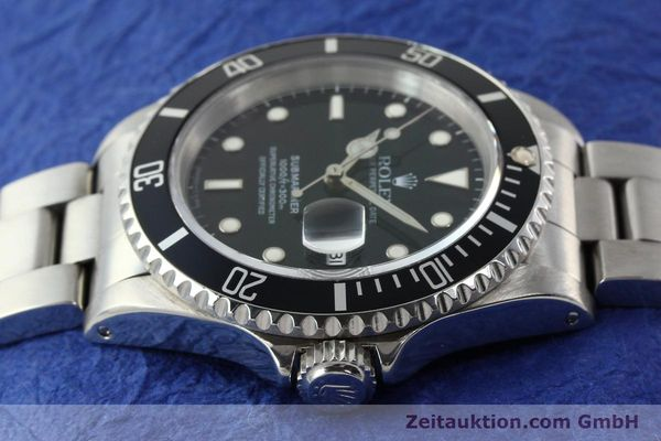 Used luxury watch Rolex Submariner steel automatic Kal. 3135 Ref. 16610  | 142213 05