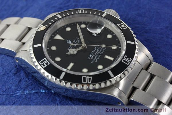 Used luxury watch Rolex Submariner steel automatic Kal. 3135 Ref. 16610  | 142213 15