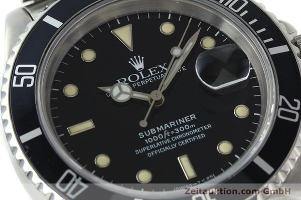 Used luxury watch Rolex Submariner steel automatic Kal. 3135 Ref. 16610  | 142214 02
