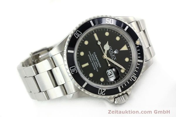 Used luxury watch Rolex Submariner steel automatic Kal. 3135 Ref. 16610  | 142214 03