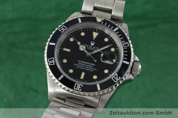 Used luxury watch Rolex Submariner steel automatic Kal. 3135 Ref. 16610  | 142214 04